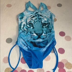 Justice Girls Bathing Suit